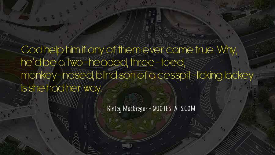 Kinley MacGregor Quotes #1523703