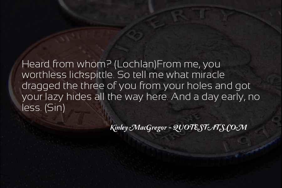 Kinley MacGregor Quotes #246000