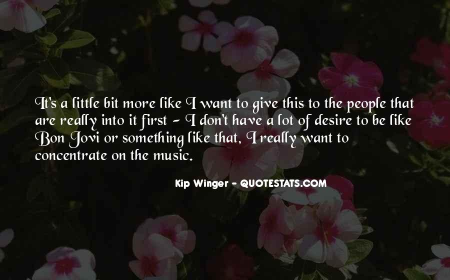 Kip Winger Quotes #1124848