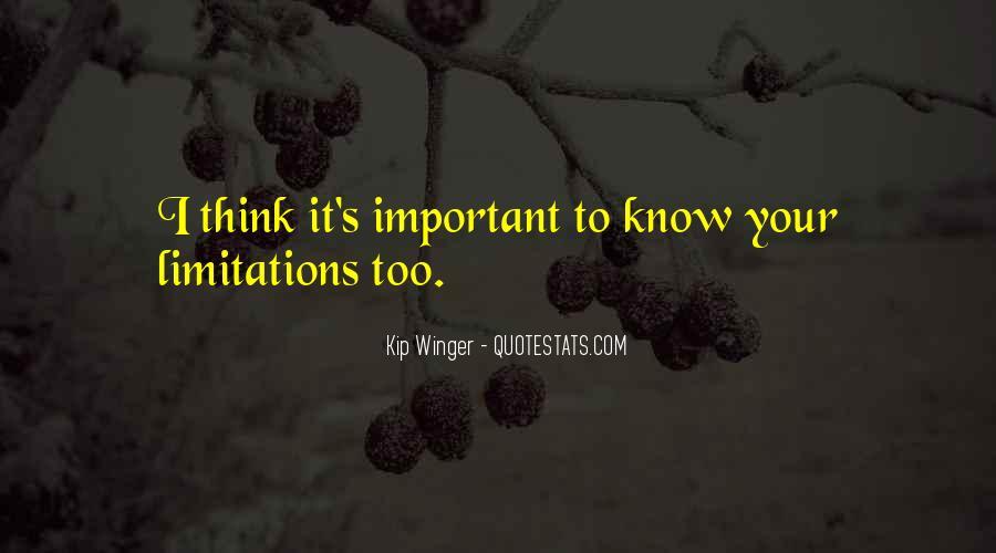 Kip Winger Quotes #530643