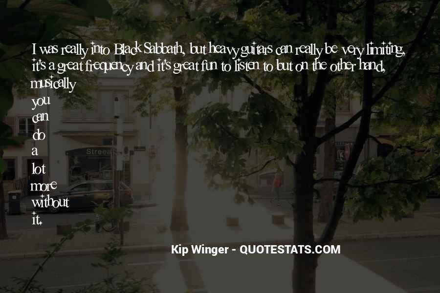 Kip Winger Quotes #667402