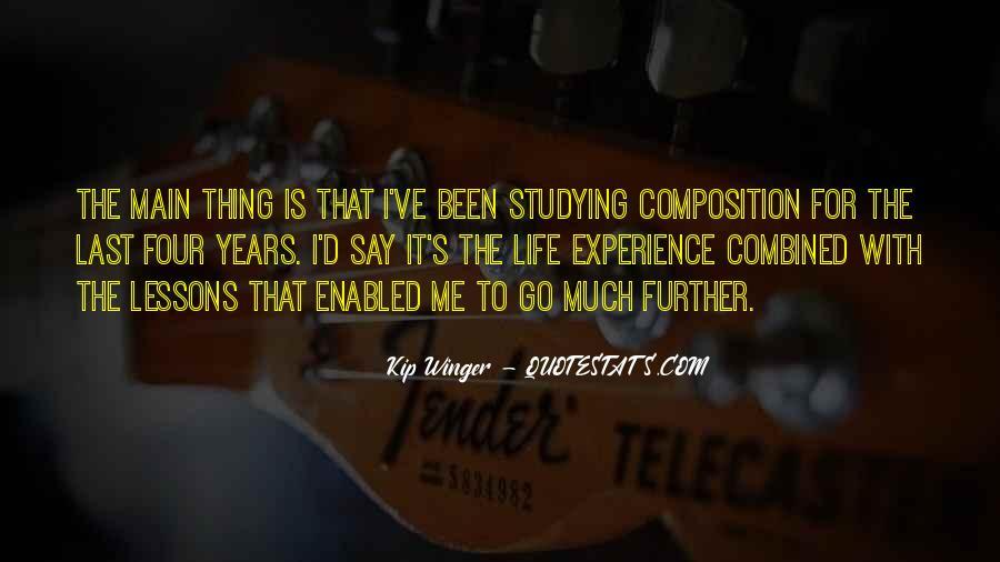 Kip Winger Quotes #955161