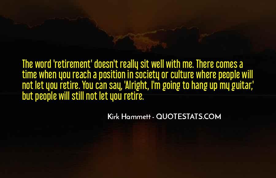 Kirk Hammett Quotes #1021132
