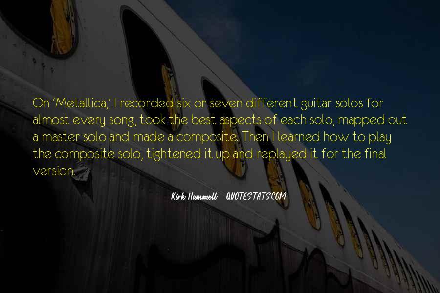 Kirk Hammett Quotes #1306120