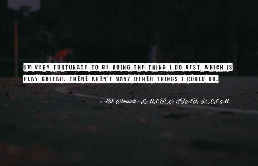 Kirk Hammett Quotes #1409041