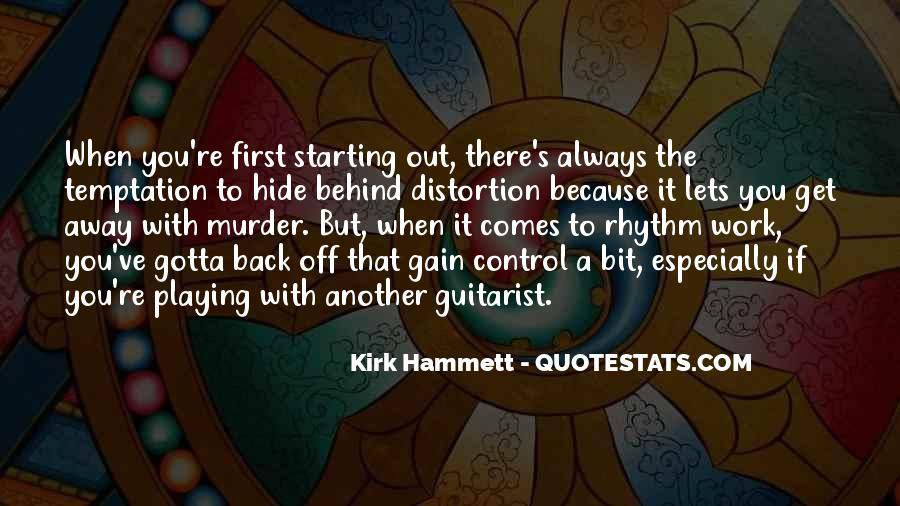 Kirk Hammett Quotes #1665341