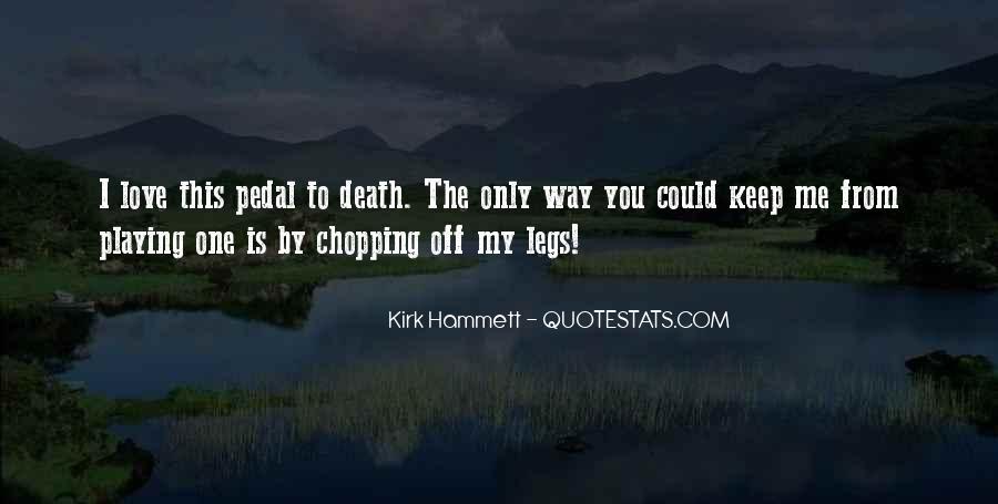 Kirk Hammett Quotes #255967