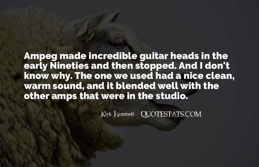 Kirk Hammett Quotes #295869