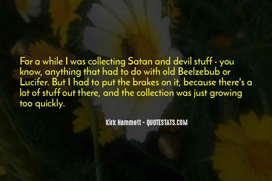 Kirk Hammett Quotes #338070