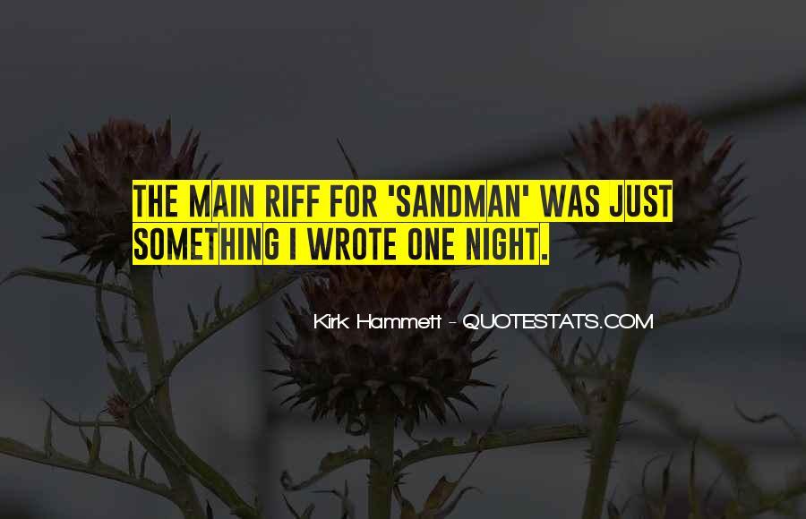 Kirk Hammett Quotes #440100