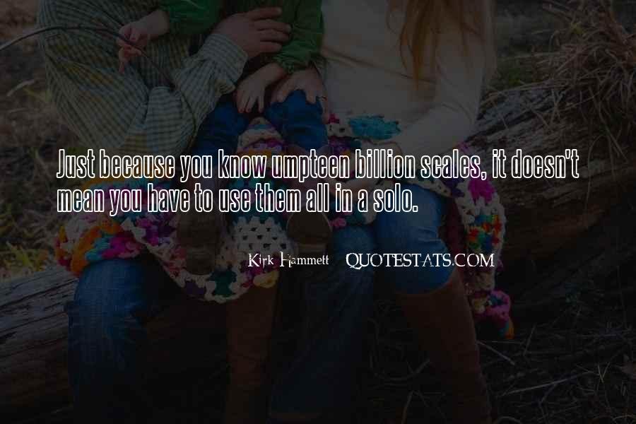 Kirk Hammett Quotes #632973