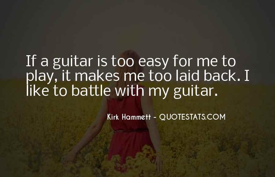 Kirk Hammett Quotes #641395