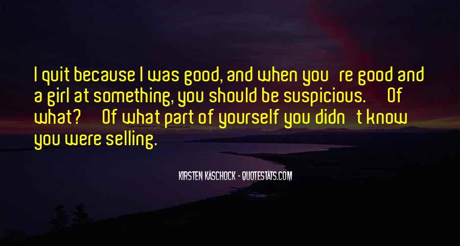 Kirsten Kaschock Quotes #337901