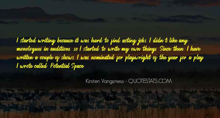 Kirsten Vangsness Quotes #856802