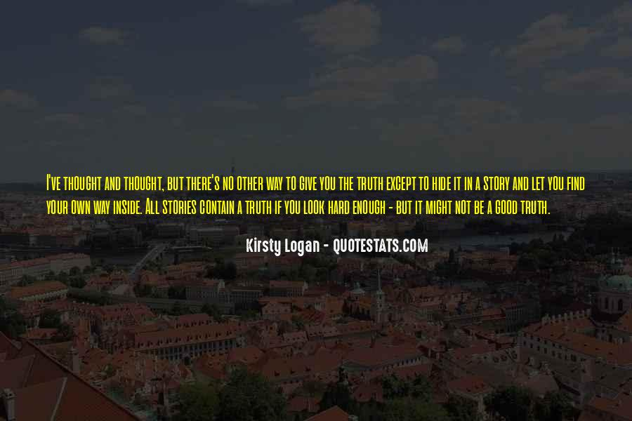 Kirsty Logan Quotes #798975