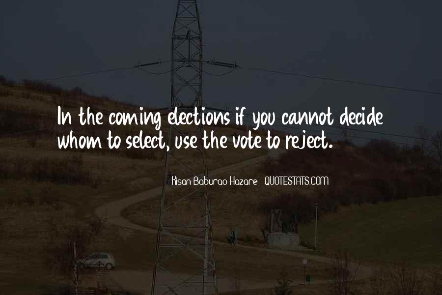 Kisan Baburao Hazare Quotes #1167113