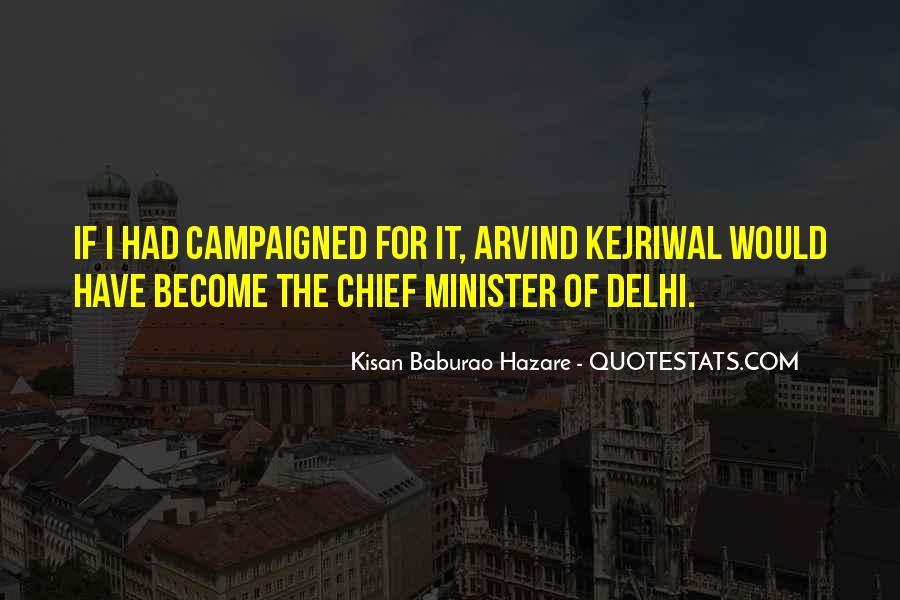 Kisan Baburao Hazare Quotes #1750412