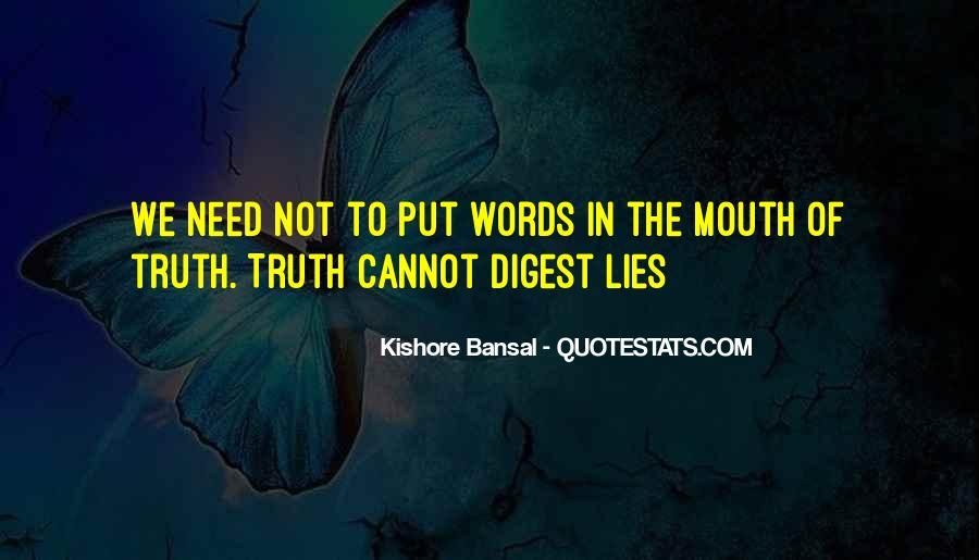 Kishore Bansal Quotes #1077848