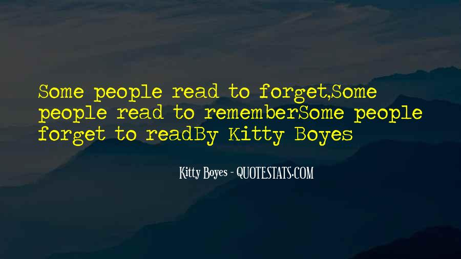 Kitty Boyes Quotes #464544