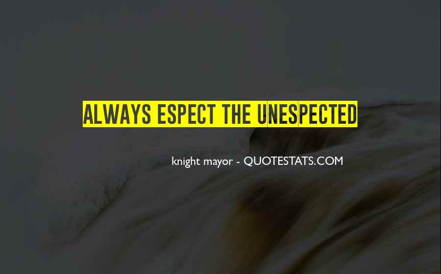 Knight Mayor Quotes #1045841