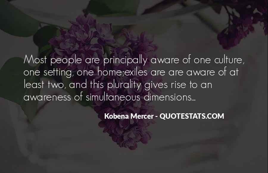 Kobena Mercer Quotes #564947