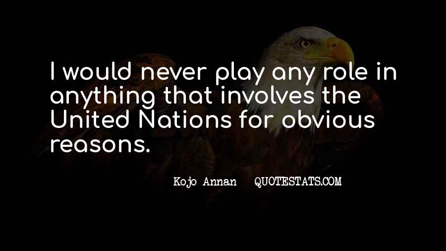 Kojo Annan Quotes #195851