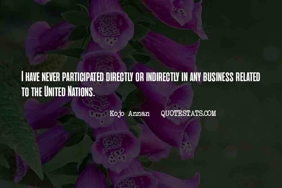 Kojo Annan Quotes #577419