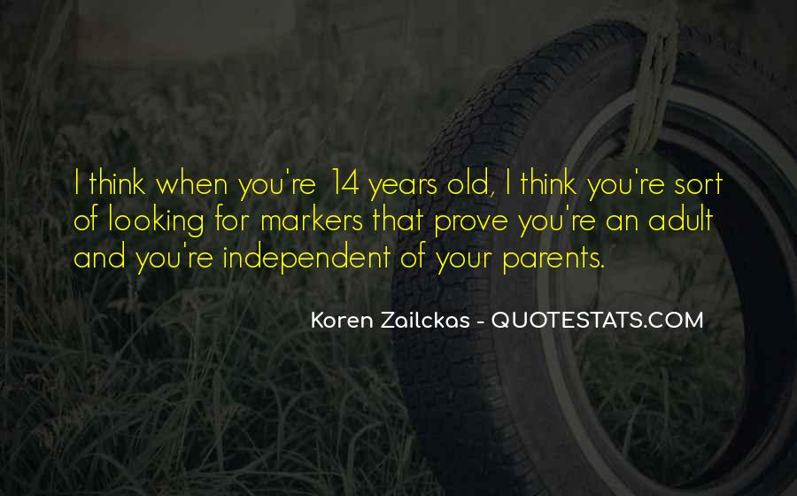 Koren Zailckas Quotes #1596361
