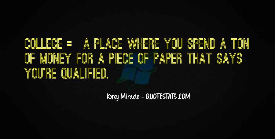 Korey Miracle Quotes #1109872