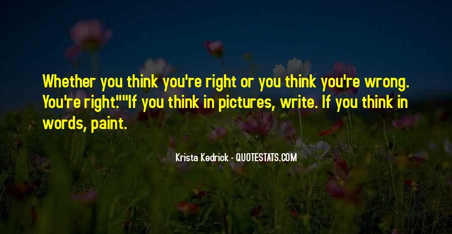 Krista Kedrick Quotes #1394690