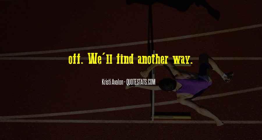 Kristi Avalon Quotes #1404485