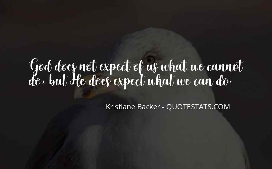 Kristiane Backer Quotes #1578801