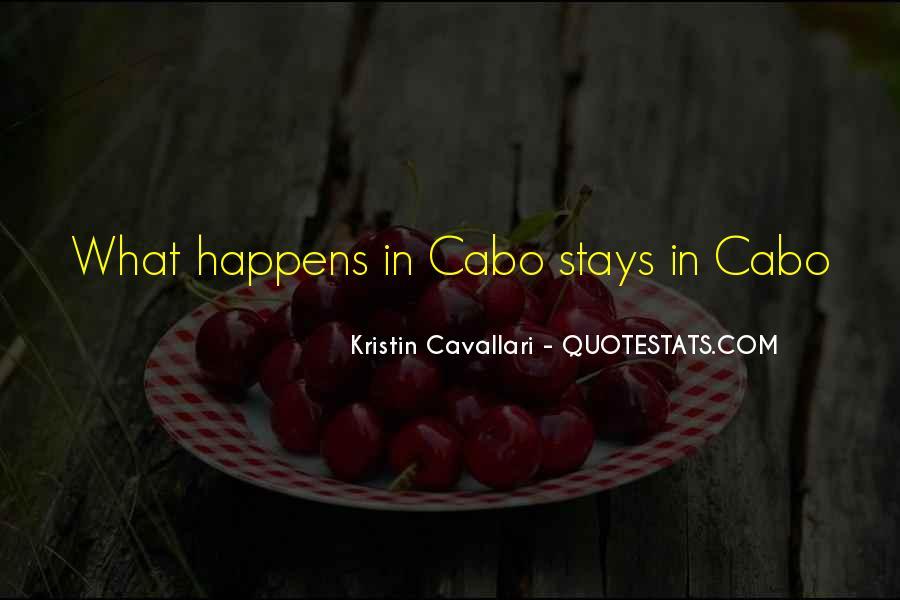 Kristin Cavallari Quotes #1013425