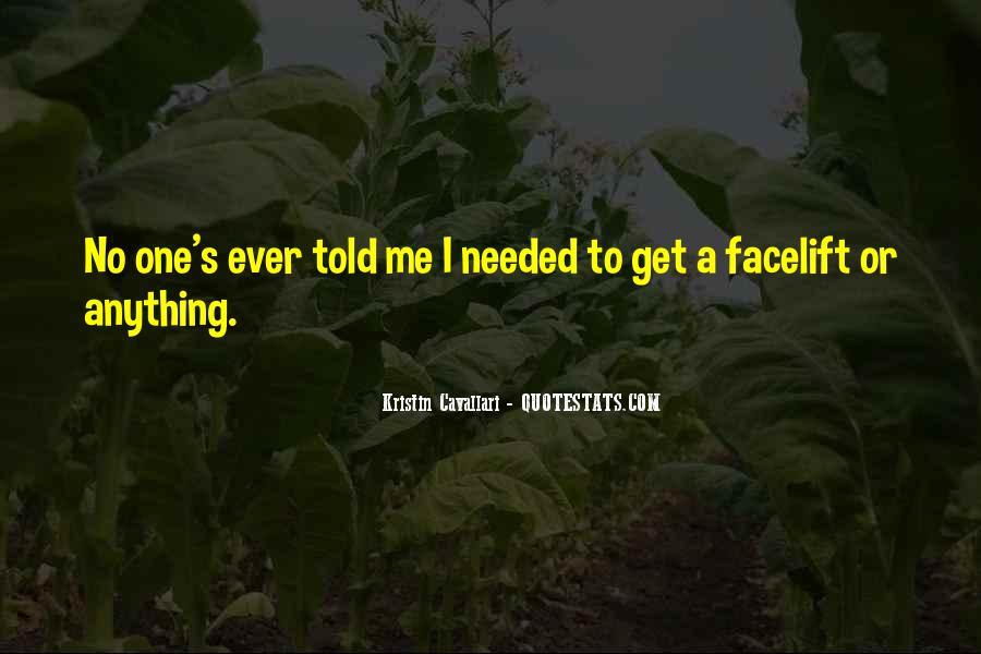Kristin Cavallari Quotes #1211829