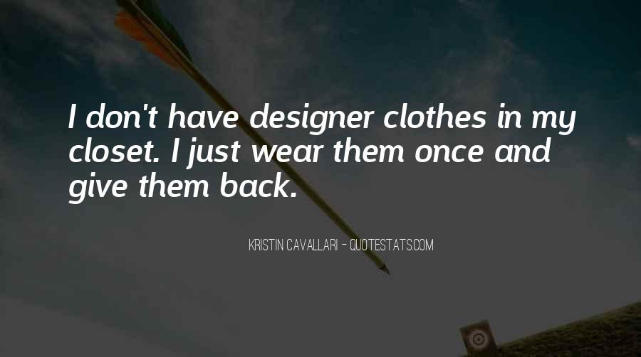 Kristin Cavallari Quotes #634538