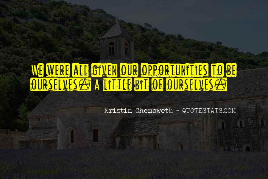 Kristin Chenoweth Quotes #1691560