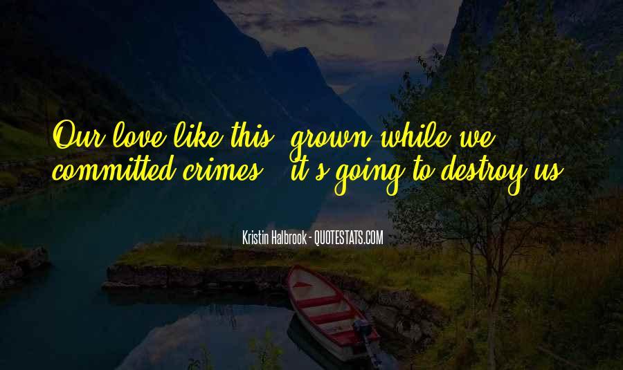 Kristin Halbrook Quotes #1503121
