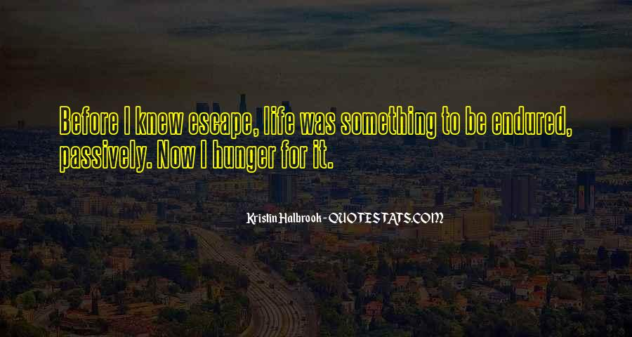 Kristin Halbrook Quotes #1641653