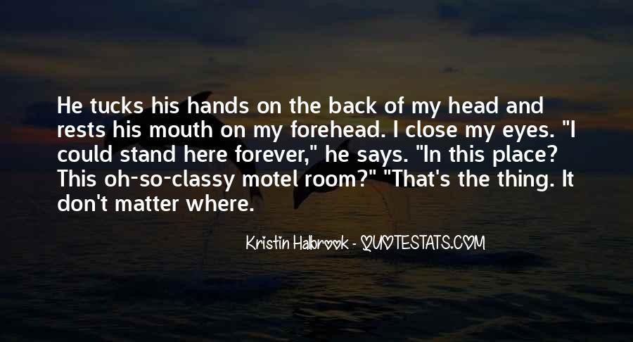 Kristin Halbrook Quotes #384764