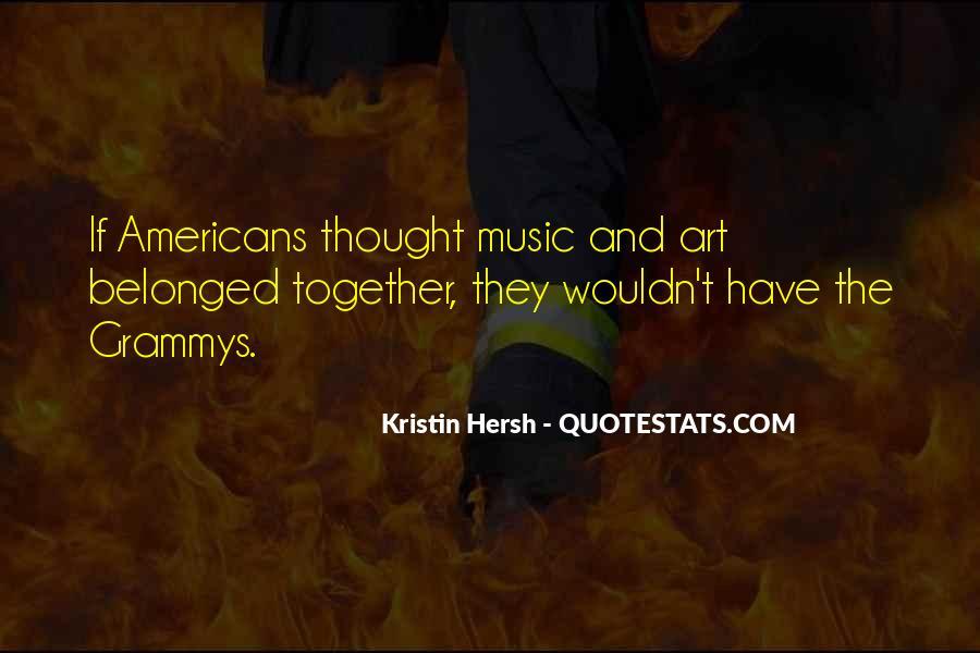 Kristin Hersh Quotes #281307