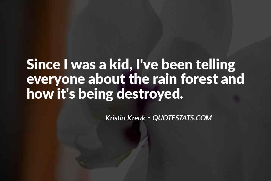 Kristin Kreuk Quotes #1432298