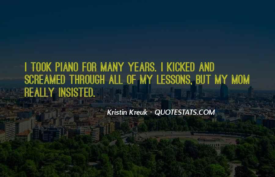 Kristin Kreuk Quotes #1528123