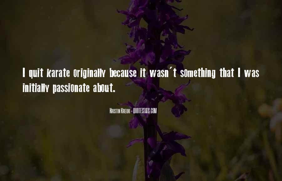 Kristin Kreuk Quotes #1721084