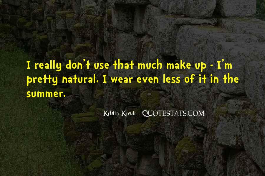 Kristin Kreuk Quotes #1857453