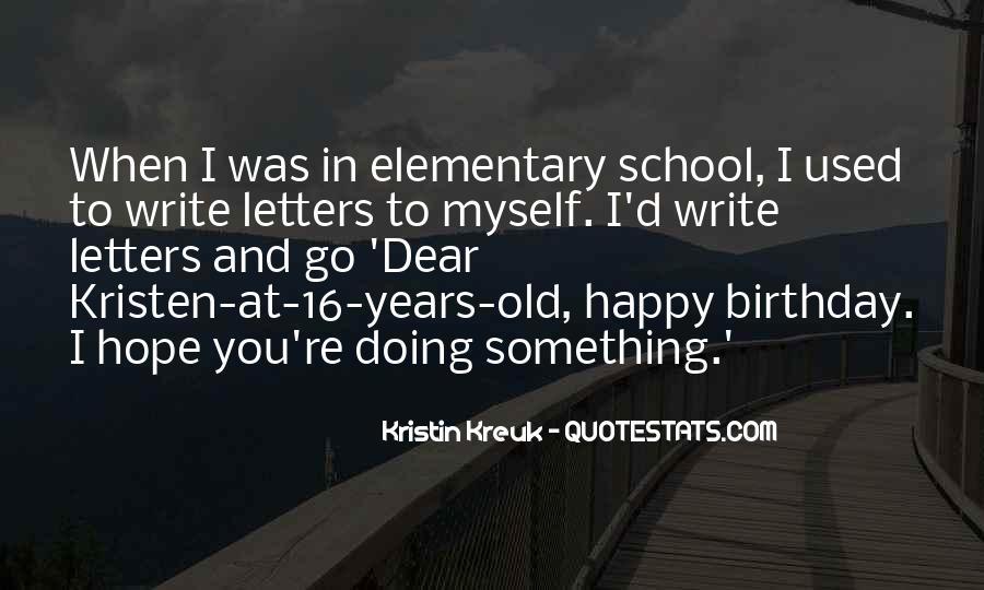 Kristin Kreuk Quotes #524078
