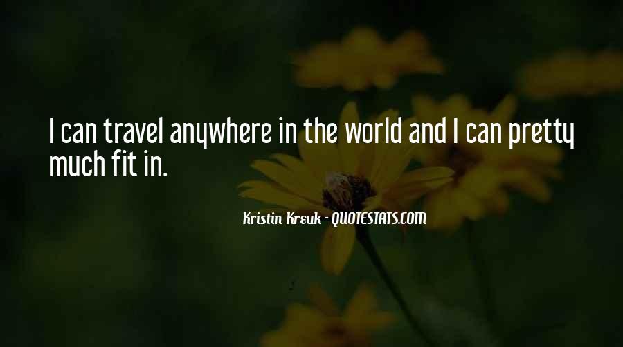 Kristin Kreuk Quotes #80228