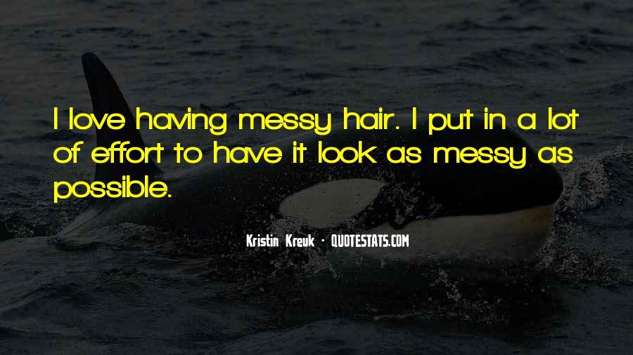Kristin Kreuk Quotes #883561