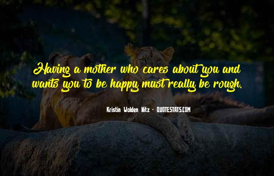 Kristin Wolden Nitz Quotes #1226982