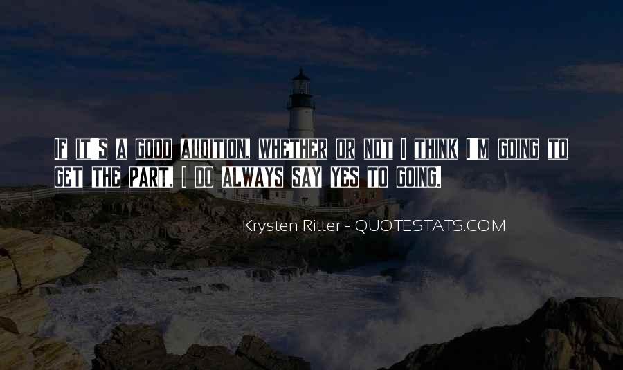 Krysten Ritter Quotes #1255218