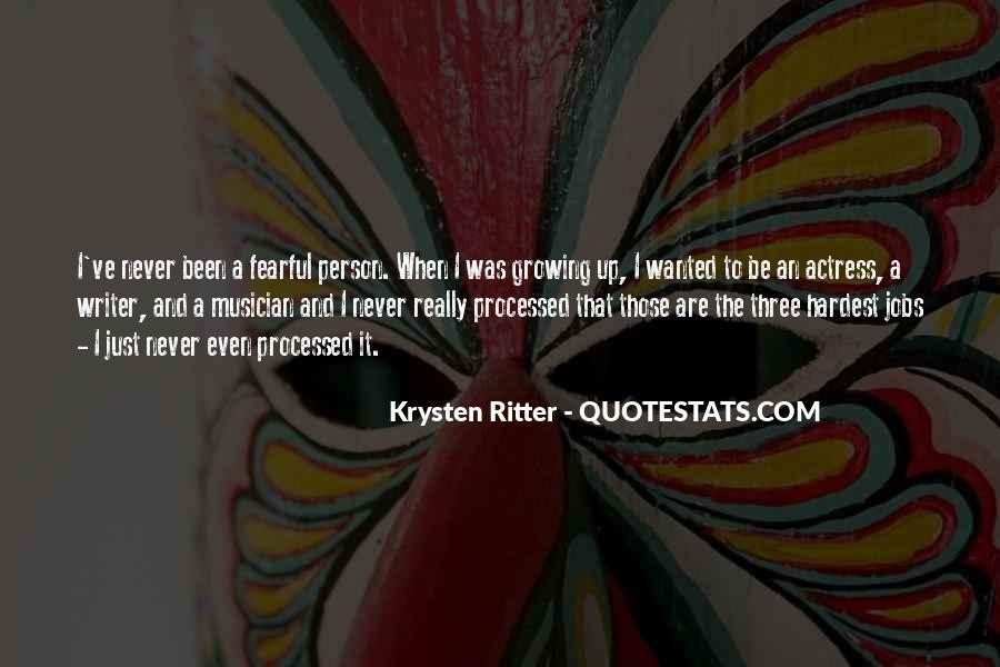 Krysten Ritter Quotes #1702782